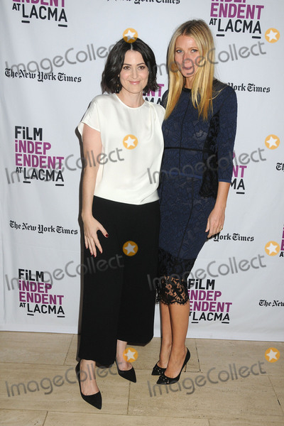 """Gwyneth Paltrow, Alexandra Shiva Photo - 20 October 2015 - Los Angeles, California - Alexandra Shiva, Gwyneth Paltrow. """"How To Dance In Ohio"""" Los Angeles Premiere held at the LACMA Bing Theatre. Photo Credit: Byron Purvis/AdMedia"""