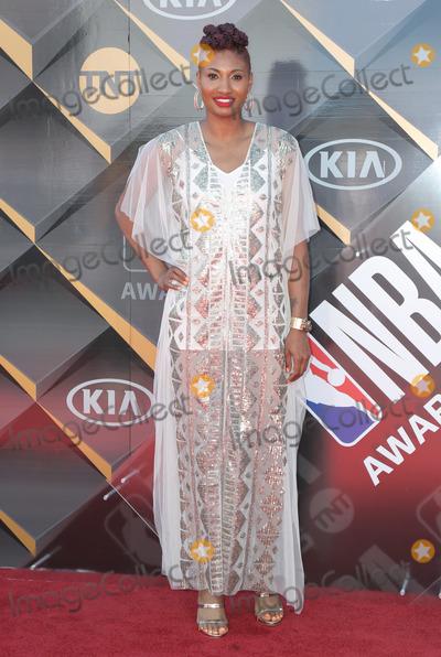Angel McCoughtry Photo - 25 June 2018 - Santa Monica, California - Angel McCoughtry. 2018 NBA Awards held at Barker Hangar. Photo Credit: PMA/AdMedia