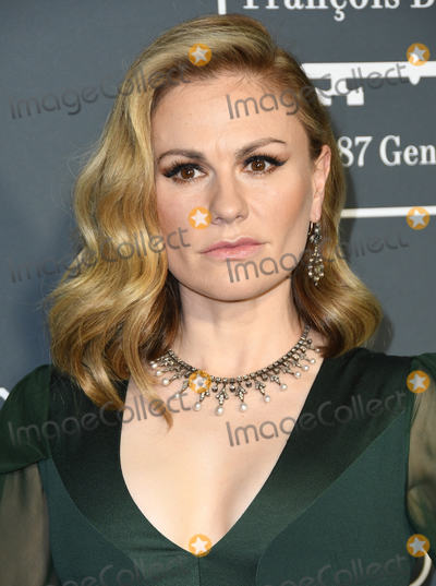 Anna Paquin Photo - 13 January 2019 - Santa Monica, California - Anna Paquin. The 24th Annual Critics' Choice Awards held at Barker Hangar. Photo Credit: Birdie Thompson/AdMedia