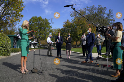 White House, The White, President Trump Photo - White House Press Secretary Kayleigh McEnany speaks with reporters at the White House in Washington, DC on Friday, October 23, 2020. McEnany answered questions regarding President Trumps debate performance the previous night in Nashville, Tennessee.