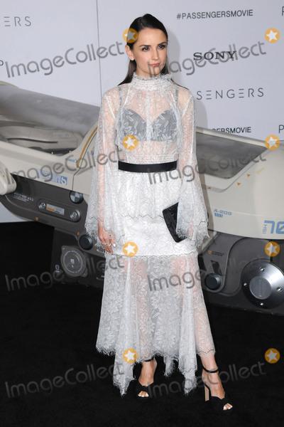 "Photo - 14 December 2016 - Westwood, California - Rachael Leigh Cok. The Los Angeles premiere of ""Passengers"" held at Regency Village Theatre. Photo Credit: Birdie Thompson/AdMedia"