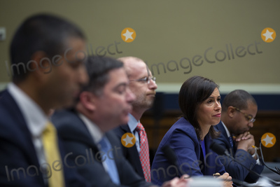 The Unit Photo - Chairman of the Federal Communications Commission Ajit Pai, Commissioners at the Federal Communications Commission Michael O'Rielly, Brendan Carr, Jessica Rosenworcel, and Geoffrey Starks testify before the United States House Committee on Energy and Commerce at the United States Capitol in Washington D.C., U.S., on Thursday, December 5, 2019. Photographer: Stefani Reynolds/CNP/AdMedia