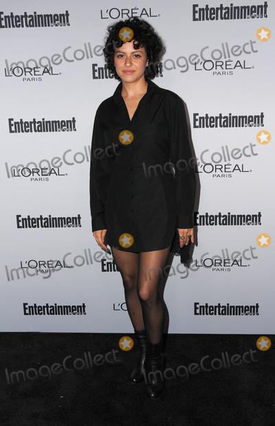 Alia Shawkat, Alias Photo - 16 September 2016 - West Hollywood, California - Alia Shawkat. 2016 Entertainment Weekly Pre-Emmy Party held at Nightingale Plaza. Photo Credit: Birdie Thompson/AdMedia