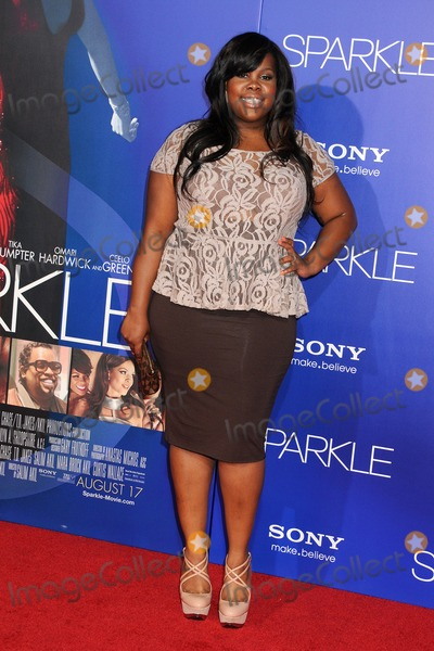 """Amber Riley, Grauman's Chinese Theatre Photo - 16 August 2012 - Hollywood, California - Amber Riley. """"Sparkle"""" Los Angeles Premiere held at Grauman's Chinese Theatre. Photo Credit: Byron Purvis/AdMedia"""