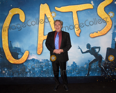 """Andrew Lloyd Webber Photo - 16 December 2019 - New York, New York - Andrew Lloyd Webber at the World Premiere of """"CATS"""" at Alice Tully Hall in Lincoln Center. Photo Credit: LJ Fotos/AdMedia"""