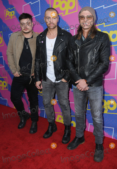 "Andrew Lawrence, Joey Lawrence, Matthew Lawrence Photo - 06 April 2017 - Los Angeles, California - Andrew Lawrence, Joey Lawrence, Matthew Lawrence.  Premiere Of Pop TV's ""Hollywood Darlings"" and ""Return of the Mac""  held at iPic Theaters in Los Angeles. Photo Credit: Birdie Thompson/AdMedia"