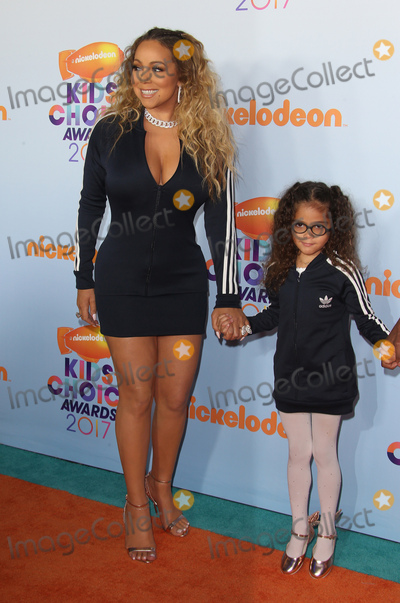 Mariah Carey Photo - 11 March 2017 -  Los Angeles, California - Mariah Carey, Moroccan Scott Cannon. Nickelodeon's Kids' Choice Awards 2017 held at USC Galen Center. Photo Credit: Faye Sadou/AdMedia