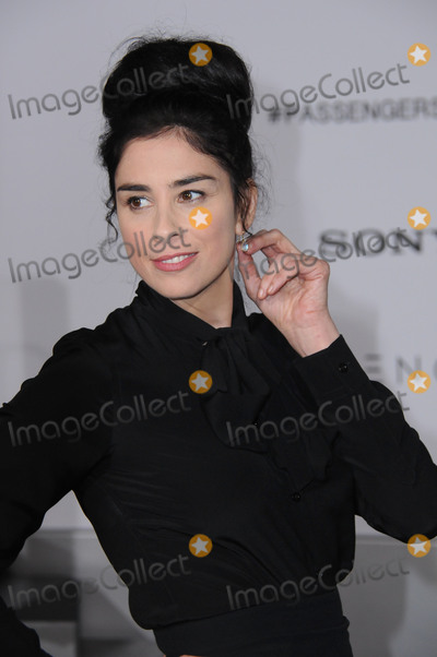 "Sarah Silverman Photo - 14 December 2016 - Westwood, California - Sarah Silverman. The Los Angeles premiere of ""Passengers"" held at Regency Village Theatre. Photo Credit: Birdie Thompson/AdMedia"
