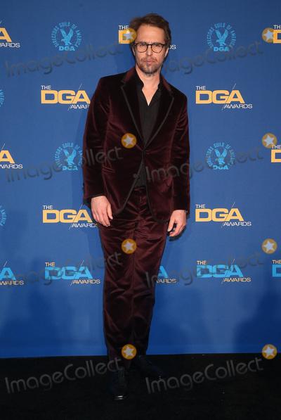 Sam Rockwell, RITZ CARLTON, The Ritz Photo - 25 January 2020 - Los Angeles, California - Sam Rockwell. 72nd Annual Directors Guild Of America Awards (DGA Awards 2020) held at the The Ritz Carlton. Photo Credit: F. Sadou/AdMedia