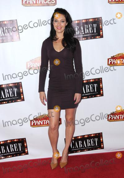 "Alaina Hoffman Photo - 20 July 2016 - Hollywood, California. Alaina Hoffman. The opening of ""Cabaret"" held at the Hollywood Pantages Theater. Photo Credit: Birdie Thompson/AdMedia"