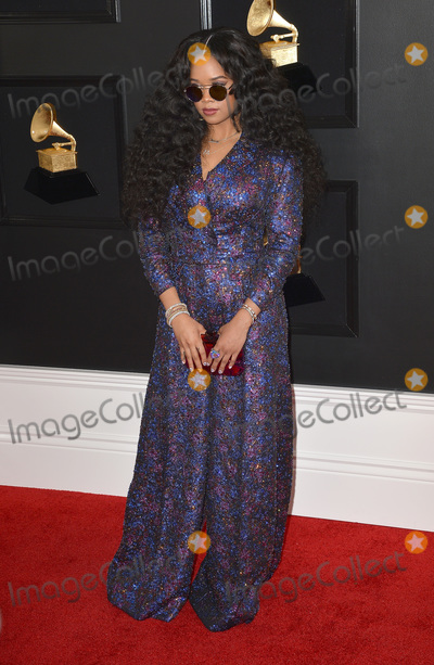 Photo - 10 February 2019 - Los Angeles, California - H.E.R.. 61st Annual GRAMMY Awards held at Staples Center. Photo Credit: AdMedia
