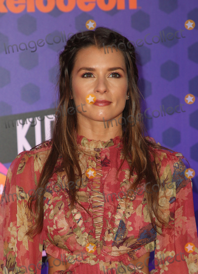 Danica Patrick Photo - 19 July 2018-  Santa Monica, California - Danica Patrick. Nickelodeon Kids' Choice Sports Awards 2018 held at Barker Hangar. Photo Credit: Faye Sadou/AdMedia