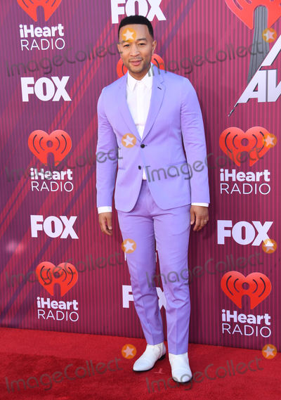 John Legend, JOHN  LEGEND Photo - 14 March 2019 - Los Angeles, California - John Legend. 2019 iHeart Radio Music Awards Arrivals held at Microsoft Theater. Photo Credit: Birdie Thompson/AdMedia