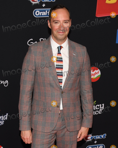 "Tony Hale Photo - 12 June 2019 - Hollywood, California - Tony Hale. ""Toy Story 4"" Disney and Pixar Los Angeles Premiere held at El Capitan Theatre. Photo Credit: Billy Bennight/AdMedia"