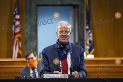 Jerry Moran Photo - United States Senator Jerry Moran (Republican of Kansas) speaks during a United States Senate Committee on Veterans Affairs hearing on Capitol Hill in Washington D.C., U.S., on Wednesday, June 3, 2020.  Credit: Stefani Reynolds / CNP/AdMedia