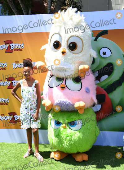 "Genesis Tennon, Genesis, Angry Bird, Angry Birds Photo - 10 August 2019 - Westwood, California - Genesis Tennon. Sony's ""The Angry Birds Movie 2"" Los Angeles Premiere held at Regency Village Theater. Photo Credit: Birdie Thompson/AdMedia"
