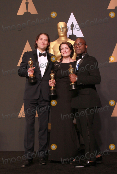 Adele, Jeremy Kleiner, Adele Romanski Photo - 26 February 2017 - Hollywood, California - Adele Romanski, Jeremy Kleiner, Torel Alvin McCraney. 89th Annual Academy Awards presented by the Academy of Motion Picture Arts and Sciences held at Hollywood & Highland Center. Photo Credit: Theresa Shirriff/AdMedia