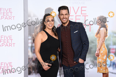 """Andy Grammer Photo - 07 March 2019 - Westwood, California - Aijai Grammer, Andy Grammer. """"Five Feet Apart"""" Los Angeles Premiere held at the Fox Bruin Theatre. Photo Credit: Birdie Thompson/AdMedia"""