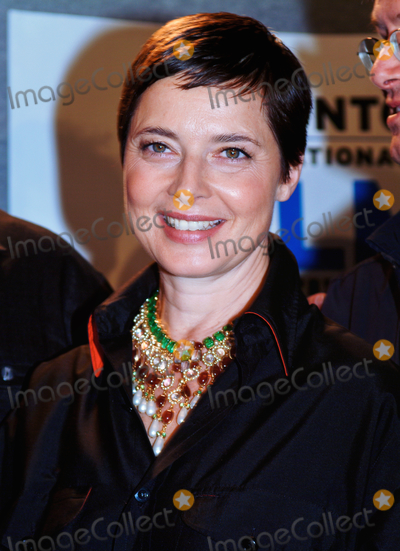 """Isabella Rossellini Photo - 29 April 2021 - """"The Rossellinis"""", the story of the Italian cinema's famous family, screens as a Special Presentation at Hot Docs Festival 2021.  File Photo: TIFF 2003, Toronto, Ontario, Canada. Photo Credit: Brent Perniac/AdMedia"""
