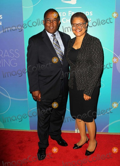 Karen Bass, Mark Ridley Thomas, Mark Ridley-Thomas Photo - 29 May 2013 - Beverly Hills, California - Chairman Mark Ridley-Thomas, Congresswoman Karen Bass. United Friends Of The Children Brass Ring Awards Dinner 2013_Arrivals Held At The Beverly Hilton Hotel. Photo Credit: Kevan Brooks/AdMedia