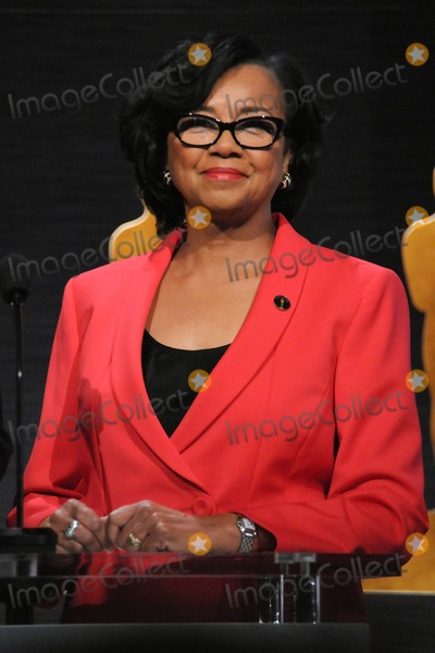 Photo - 15 January 2015 - Los Angeles, California - Cheryl Boone Isaacs. 87th Annual Academy Awards Nominations Announcements. Photo Credit: Byron Purvis/AdMedia