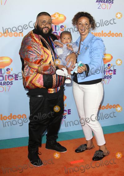 Khaled, DJ KHALED, Dj Khaleed Photo - 11 March 2017 -  Los Angeles, California - DJ Khaled, Nicole Tuck, Asahd Tuck Khaled. Nickelodeon's Kids' Choice Awards 2017 held at USC Galen Center. Photo Credit: Faye Sadou/AdMedia
