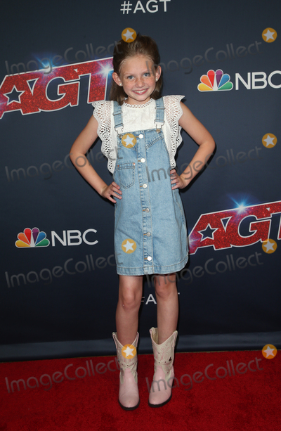"""Ansley Burns Photo - 13 August 2019 - Hollywood, California - Ansley Burns. """"America's Got Talent"""" Season 14 Live Show Red Carpet held at Dolby Theatre. Photo Credit: FSadou/AdMedia"""