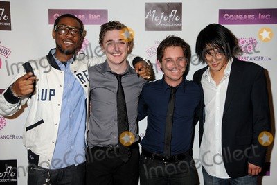 "Kyle Gallner, Ryan Pinkston, Cougar Photo - 31 March 2011 - Hollywood, California - Christian Murphy, Kyle Gallner, Ryan Pinkston and Cary Alexander. ""Cougars, Inc."" Los Angeles Premiere held at the Egyptian Theater. Photo: Byron Purvis/AdMedia"