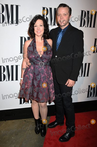 Jason Isbell, Amanda Shires Photo - 03 November 2015 - Nashville, Tennessee - Amanda Shires and Jason Isbell. 63rd Annual BMI Country Awards, 2015 BMI Country Awards, held at BMI Music Row Headquarters. Photo Credit: Laura Farr/AdMedia