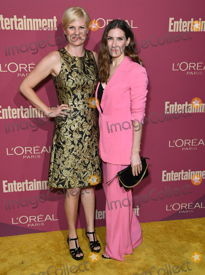 Sarah Levy, Jennifer Robertson Photo - 20 September 2019 - West Hollywood, California - Jennifer Robertson, Sarah Levy. 2019 Entertainment Weekly Pre-Emmy Party held at Sunset Tower. Photo Credit: Birdie Thompson/AdMedia