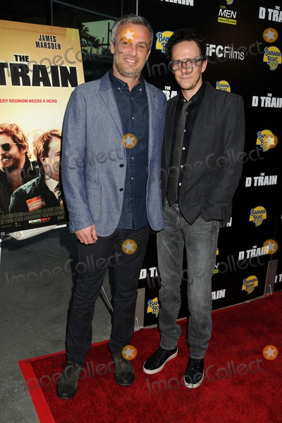 "Train, Jarrad Paul, Andrew Mogel Photo - 27 April 2015 - Hollywood, California - Andrew Mogel, Jarrad Paul. ""D Train"" Los Angeles Premiere held at Arclight Cinemas. Photo Credit: Byron Purvis/AdMedia"