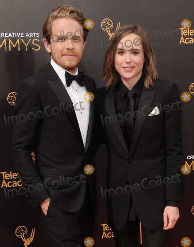 Ellen Page, Ian Daniel Photo - 11 September 2016 - Los Angeles, California. Ian Daniel, Ellen Page. 2016 Creative Arts Emmy Awards - Day 2 held at Microsoft Theater. Photo Credit: Birdie Thompson/AdMedia