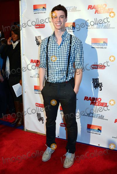 "Adam DiMarco Photo - 15 February 2012 - Universal City, California - Adam Dimarco. Disney's ""Radio Rebel"" Premiere held at AMC CityWalk Stadium 19. Photo Credit: Birdie Thompson/AdMedia"