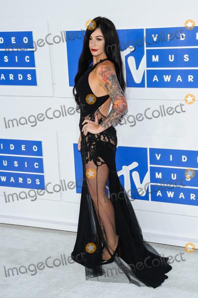 "Jenni ""JWoww"", Jenni ""JWoww"" Farley, Jenni 'JWoww', Jenni 'JWoww' Farley, Jenni ""JWoww"", Jenni ""JWoww"" Farley, Jenni JWoww, Jenni JWOWW Farley, JWoww Photo - 28 August 2016 - New York, New York - Jenni Jwoww Farley.  2016 MTV Video Music Awards at Madison Square Garden. Photo Credit: Mario Santoro /AdMedia"