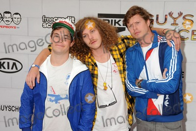 "Vines, Blake Anderson, Anders Holm, Adam DeVine Photo - 2 June 2012 - Culver City, California - Adam DeVine, Anders Holm, Blake Anderson. Spike TV's 6th Annual ""Guys Choice"" Awards held at Sony Pictures Studios. Photo Credit: Byron Purvis/AdMedia"
