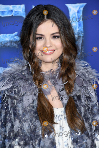 "Selena Gomez, Gomez Photo - 07 November 2019 - Hollywood, California - Selena Gomez. Disney's ""Frozen 2"" Los Angeles Premiere held at Dolby Theatre. Photo Credit: Birdie Thompson/AdMedia"