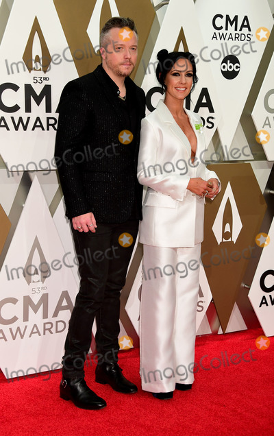 Jason Isbell, CMA Award, Amanda Shires Photo - 13 November 2019 - Nashville, Tennessee - Amanda Shires, Jason Isbell. 53rd Annual CMA Awards, Country Music's Biggest Night, held at Music City Center. Photo Credit: Laura Farr/AdMedia