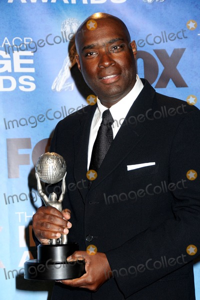 Antwone Fisher Photo - 4 March 2011 - Los Angeles, California - Antwone Fisher. 42nd Annual NAACP Image Awards - Press Room held at the Shrine Auditorium. Photo: Byron Purvis/AdMedia