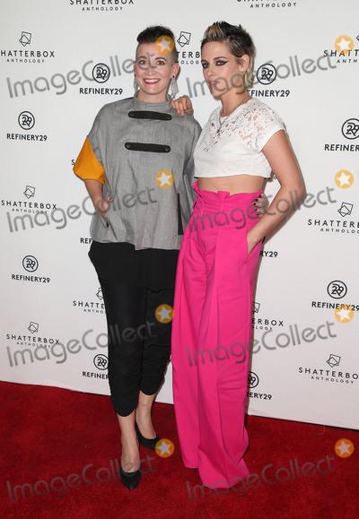 "Kristen Stewart, Amy Emmerich Photo - 09 November 2017 - Los Angeles, California - Amy Emmerich, Kristen Stewart. Starlight Studios And Refinery29 ""Come Swim"" Los Angeles Premiere. Photo Credit: F. Sadou/AdMedia"