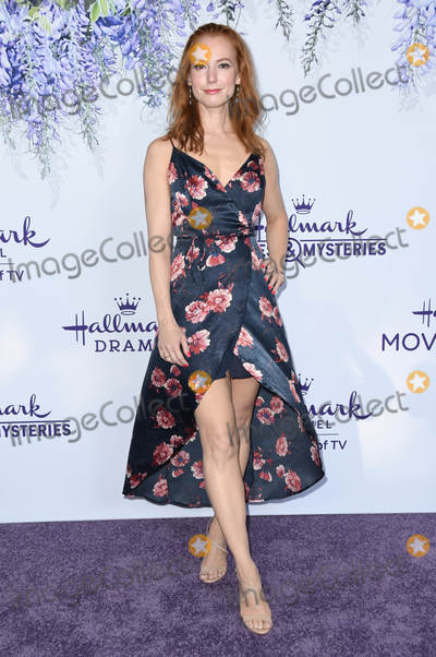 Alicia Witt Photo - 26 July 2018 - Beverly Hills, California - Alicia Witt. 2018 Hallmark Channel Summer TCA held at Private Residence. Photo Credit: Birdie Thompson/AdMedia