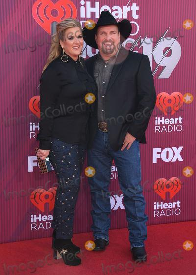 Garth Brooks, Trisha Yearwood Photo - 14 March 2019 - Los Angeles, California - Trisha Yearwood, Garth Brooks. 2019 iHeart Radio Music Awards Arrivals held at Microsoft Theater. Photo Credit: Birdie Thompson/AdMedia