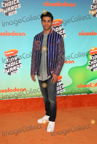 Mena Massoud Photo - 23 March 2019 - Los Angeles, California - Mena Massoud. 2019 Nickelodeon Kids' Choice Awards held at The USC Galen Center. Photo Credit: Faye Sadou/AdMedia