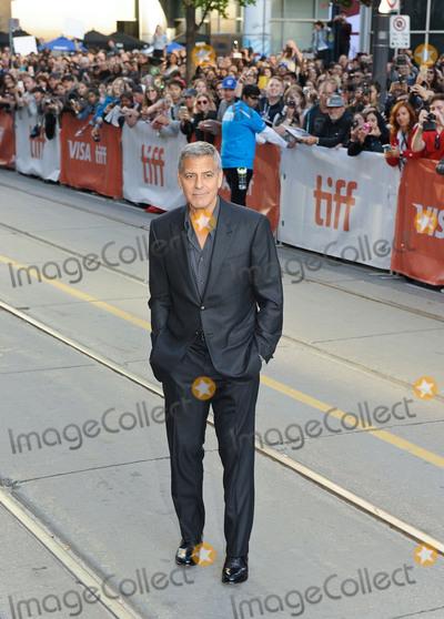 "George Clooney, Princess of Wales, Wale Photo - 09 September 2017 - Toronto, Ontario Canada - George Clooney. 2017 Toronto International Film Festival - ""Suburbicon"" Premiere held at Princess of Wales Theatre. Photo Credit: Brent Perniac/AdMedia"