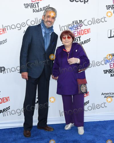 Agnes Varda, Agnès Varda Photo - 03 March 2018 - Santa Monica, California - Agnes Varda . 2018 Film Independent Spirit Awards -Arrivals, held at the Santa Monica Pier. Photo Credit: Birdie Thompson/AdMedia