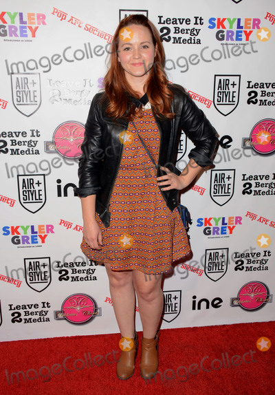 """Chelsea Alden, Skyler Grey Photo - 11 February  - Hollywood, Ca - Chelsea Alden. Arrivals for the Pop Society's """"Flashy"""" Solo Art Exhibition by 16 year old Skyler Grey held at 6363 Hollywood Blvd.. Photo Credit: Birdie Thompson/AdMedia"""