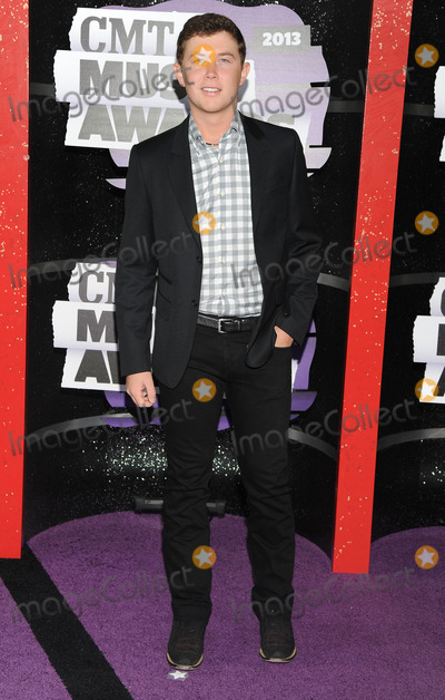 Scotty McCreery Photo - 05 June 2013 - Nashville, Tennessee - Scotty McCreery. 2013 CMT Music Awards held at Bridgestone Arena. Photo Credit: Ryan Pavlov/AdMedia