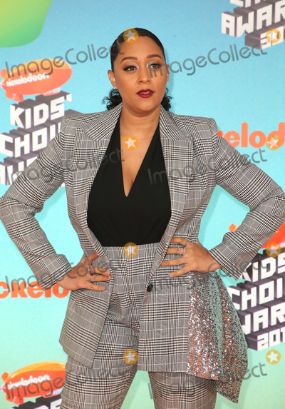 Tia Mowry-Hardrict, Tia Mowry Photo - 23 March 2019 - Los Angeles, California - Tia Mowry-Hardrict. 2019 Nickelodeon Kids' Choice Awards held at The USC Galen Center. Photo Credit: Faye Sadou/AdMedia