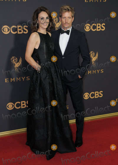 Annie Parisse, Paul Sparks Photo - 17 September  2017 - Los Angeles, California - Annie Parisse, Paul Sparks. 69th Annual Primetime Emmy Awards - Arrivals held at Microsoft Theater in Los Angeles. Photo Credit: Birdie Thompson/AdMedia