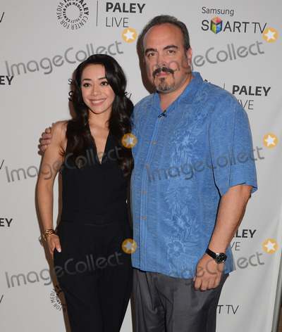"Amiee Garcia, David Zayas Photo - 12 September 2013 - Beverly Hills, Ca - Amiee Garcia, David Zayas. PaleyFest ""Fall Farewell"" to Showtime's 'Dexter' at Paley Center for Media in Beverly Hills, Ca. Photo Credit: BirdieThompson/AdMedia"