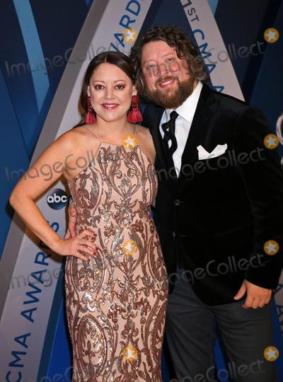 Hillary Lindsey, CMA Award Photo - 08 November 2017 - Nashville, Tennessee - Hillary Lindsey. 51st Annual CMA Awards, Country Music's Biggest Night, held at Bridgestone Arena. Photo Credit: Laura Farr/AdMedia